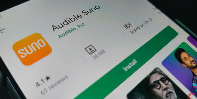 Audible launches free audio App 'Audible Suno' - BlogCani